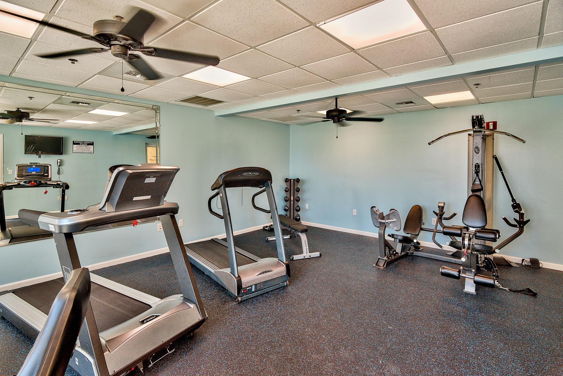 LeeWard Key workout room!