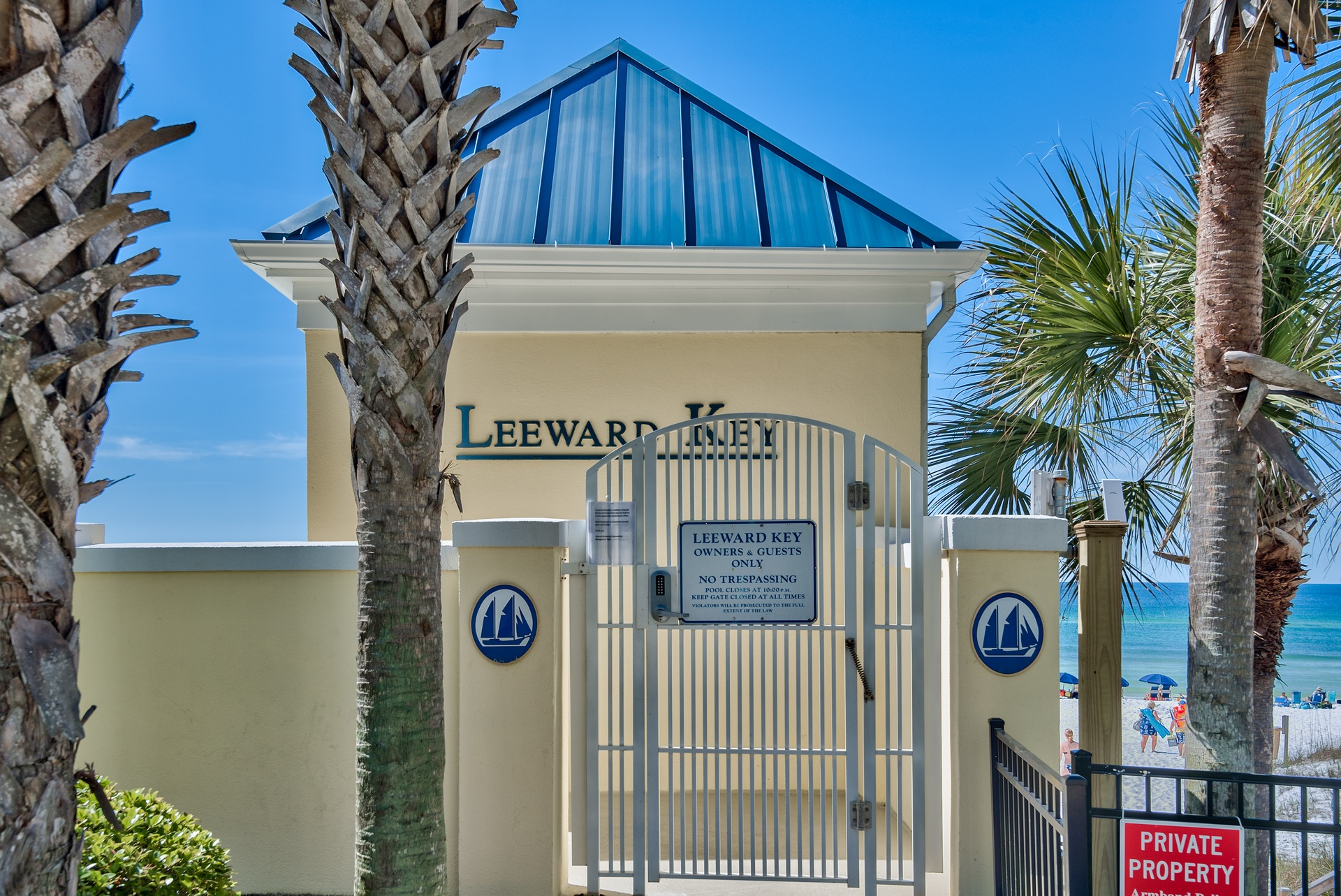 LeeWard Key Beach Access in Destin Florida